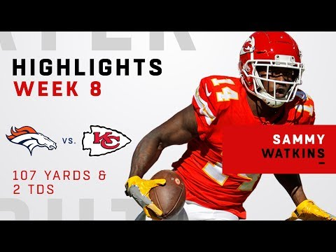 Sammy Watkins Hauls in 2 TDs vs. Broncos