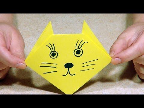 Поделки своими руками из бумаги оригами видео легкие очень
