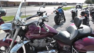 8. 003305 - 2011 Victory Cross Roads - Used Motorcycle For Sale