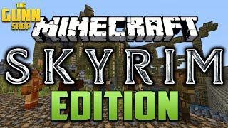 The GUNN Shop - NEW! Minecraft Skyrim Edition, by Microsoft&Bethesda