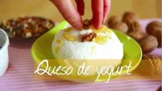 Cómo hacer queso de yogurt