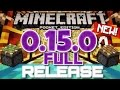 OFFICIAL RELEASE! // iOS & Android! [Minecraft PE 0.15.0] Minecraft Pocket Edition