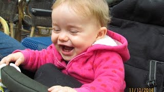Baby Laughing About Ducks