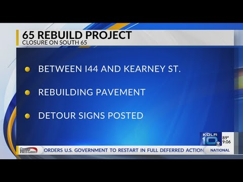 MoDOT Shutting Down Route 65, Continues Road Construction