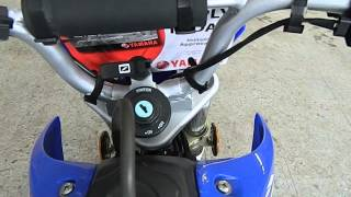 7. 2011 YAMAHA TTR50 OFFROAD DIRT MOTORCYCLE