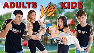 KIDS Turn Into ADULTS & PARENTS Turn Into KIDS! -Challenge | Familia Diamond