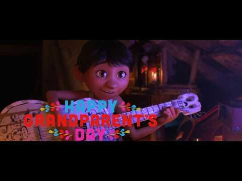 Happy Grandparents Day from Disney/Pixar's Coco!
