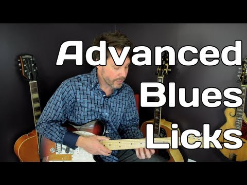 Video 6 of 7 – Guitar Blues Licks – Free Guitar Lesson Advanced