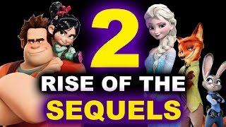 Wreck It Ralph 2 2018, Frozen 2, Zootopia 2 - Disney Sequels Breakdown by Beyond The Trailer