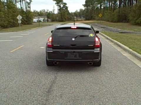 2008 Dodge Magnum SRT8 Burnout