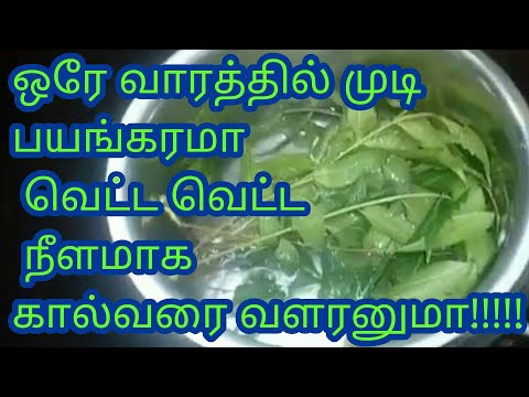 Fasthair Growth In Tamil/home Remedy For Long Hair/best Hair Loss Remedy/quick Hair Growth In 1 Week