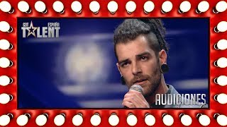 Video This tough guy ended up singing an Ed Sheeran' song | Auditions 5 | Spain's Got Talent 2018 MP3, 3GP, MP4, WEBM, AVI, FLV Juli 2018