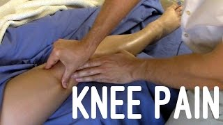 Video Massage Tutorial: Knee pain, myofascial release techniques MP3, 3GP, MP4, WEBM, AVI, FLV Januari 2019