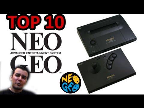 TOP 10 Neo Geo (Mejores Juegos)    TOP 10 NeoGeo Best Games    En español HD