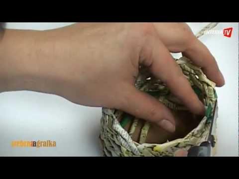 Jak zrobić koszyczek z papieru?
