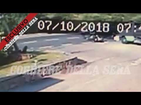 George Clooney accident - exclusive video