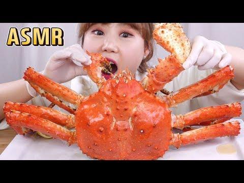 ASMR|3.1kg 킹크랩 먹방~킹크랩 ASMR!! King crab mukbang~ Eating show! 대게 먹방 - Thời lượng: 8 phút, 40 giây.