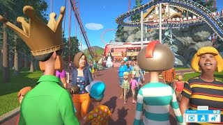 BECOMING A GUEST OF MY OWN PARK! - PLANET COASTER #16