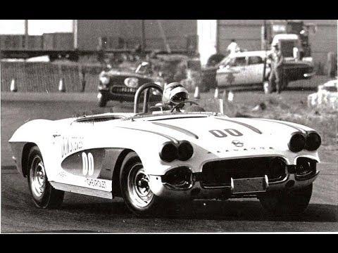 1961 Reno Grand Prix - Dave MacDonald in the 00 Corvette