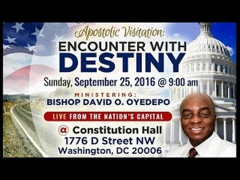 Bishop David Oyedepo Apostolic Visitation To Winners Chapel Maryland USA. 25thSept;2016