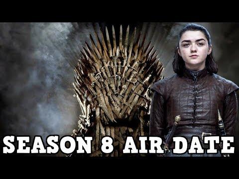 Game of Thrones Season 8 - Maisie WIlliams Reveals Season 8 Air Date (UPDATED)