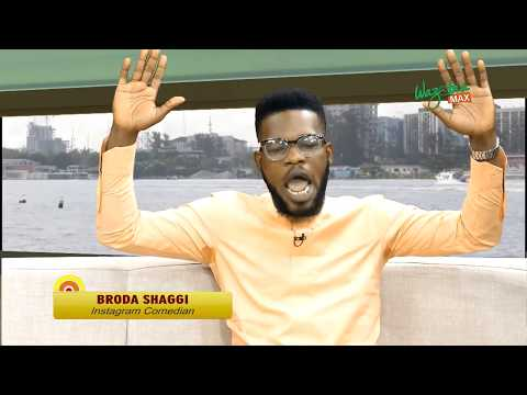 Gudu Morning Naija Show - Broda Shaggi On His Journey To Fame