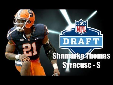 Shamarko Thomas - 2013 NFL Draft Profile video.