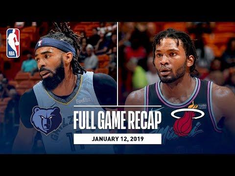 Video: Full Game Recap: Grizzlies vs Heat | MEM & MIA Battle Down The Stretch