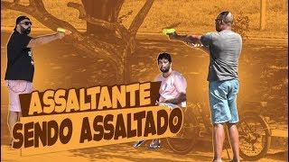 Pegadinhas - PEGADINHA - ASSALTANDO O ASSALTANTE! #DESAFIO 84