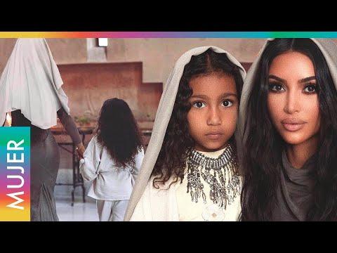 Kim Kardashian se despide de sus hijos