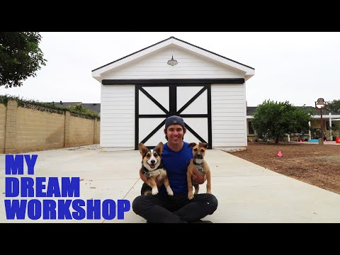 My New Dream Workshop is DONE!!!
