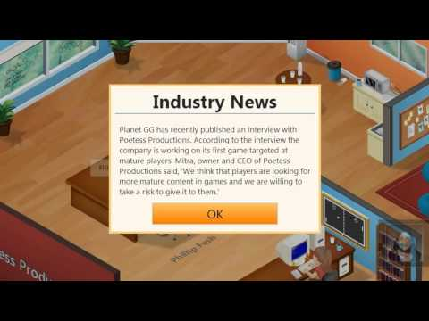dragonblogger - Game Dev Tycoon is a game creation simulator that will eat away hours and hours of your playtime. Watch our review to see if this is just the title your inne...