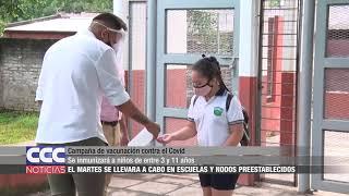 Campaña de vacunación contra el Covid
