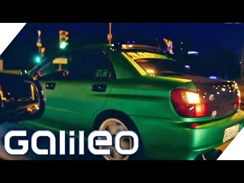 Russland: Streetracing in Moskau | Galileo | ProSieben