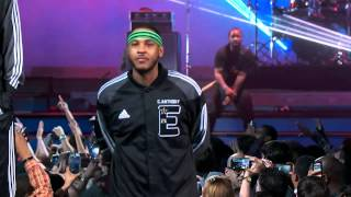 Introducion of the 2014 NBA All Star Players.