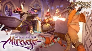 MIRAGE: Arcane Warfare (Beta Gameplay) - Magic Carpet Ride!