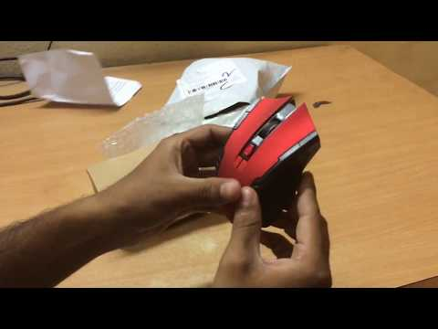 [Cheap $3][Wireless Gaming Mouse]HXSJ X20 Unboxing and Review | 2400DPI 2.4GHz | GearBest