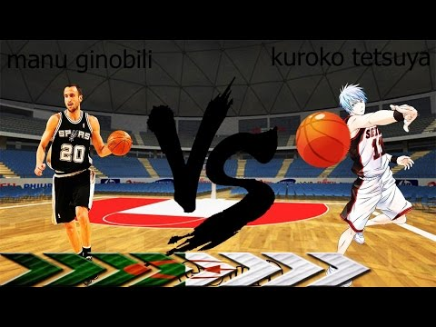 kuroko no basket vs nba