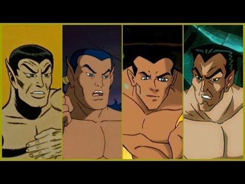 Namor the Sub-Mariner Evolution in Cartoons (2018)