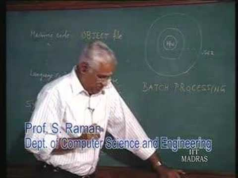 Computer Software - Lecture Series on Computer Organization by Prof.S. Raman, Department of Computer Science and Engineering, IIT Madras. For More details on NPTEL visit http://...