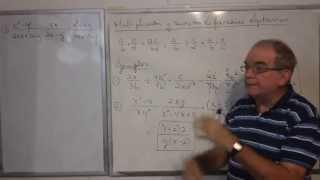Algebra Intermedia - Lección 25 - A (multiplicación Y División De Fracciones Algebraicas)