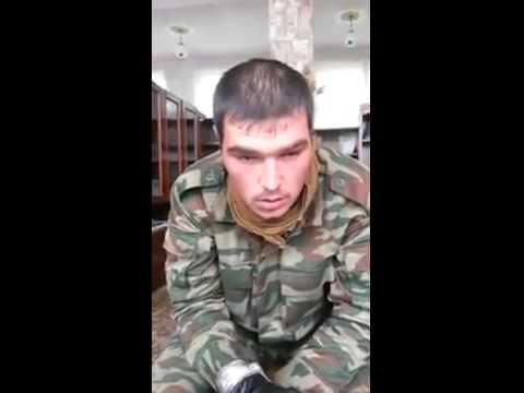 Еще два российских заблудившихся военных попали в плен под Иловайском (видео)