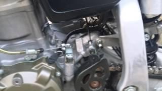 8. 2005 Honda XR650R running