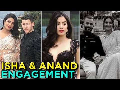 Priyanka Nick, Sonam Anand & Stars At Isha Ambani