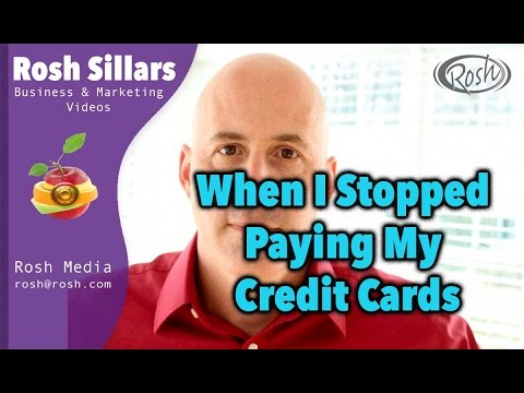 The Time I Let My Credit Cards Go