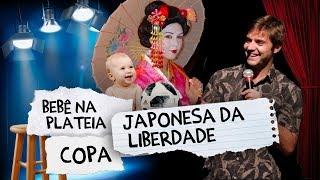 Fábio Rabin - Japonesa da Liberdade / Bebê na plateia / Copa