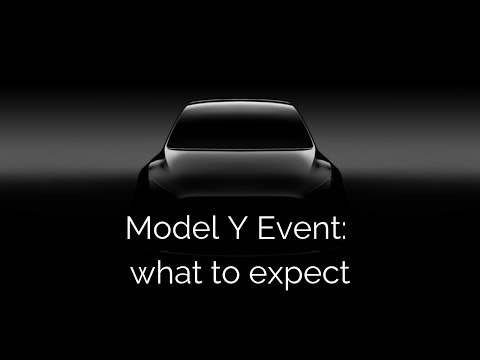 Model Y Event: What to expect