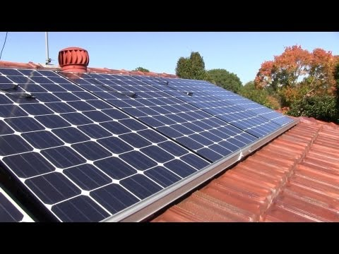 Home Solar Power System Installation