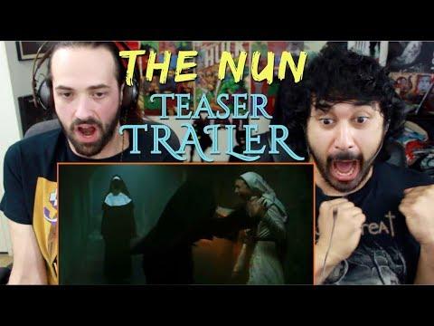THE NUN - Official Teaser TRAILER REACTION & REVIEW!!!