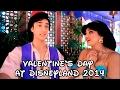 Valentine's Day at Disneyland 2014